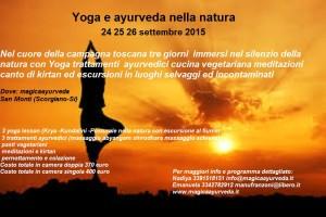 Yoga e ayurveda retreat